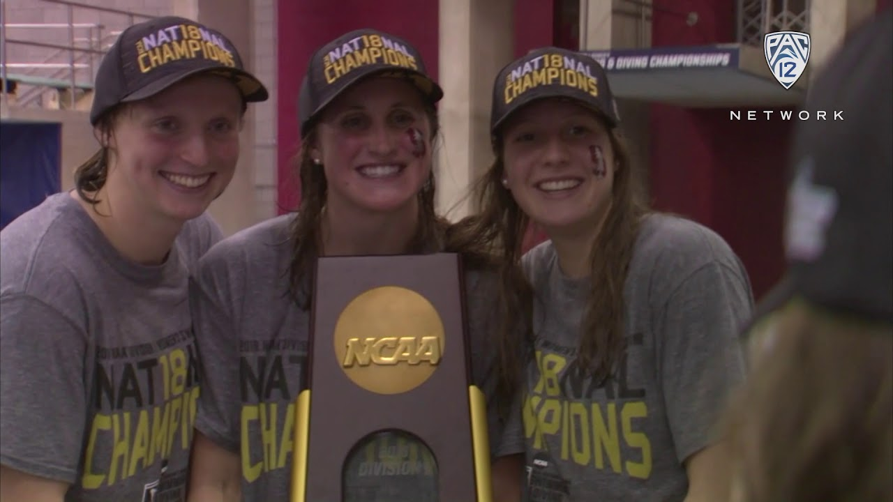 Highlights: Stanford women\'s swimming & diving wins second ...