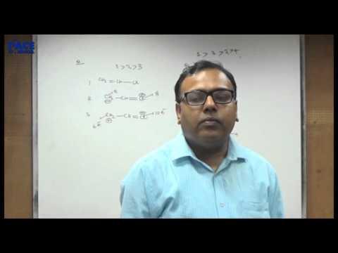 Chemistry | General Organic Chemistry (24th January 2016)