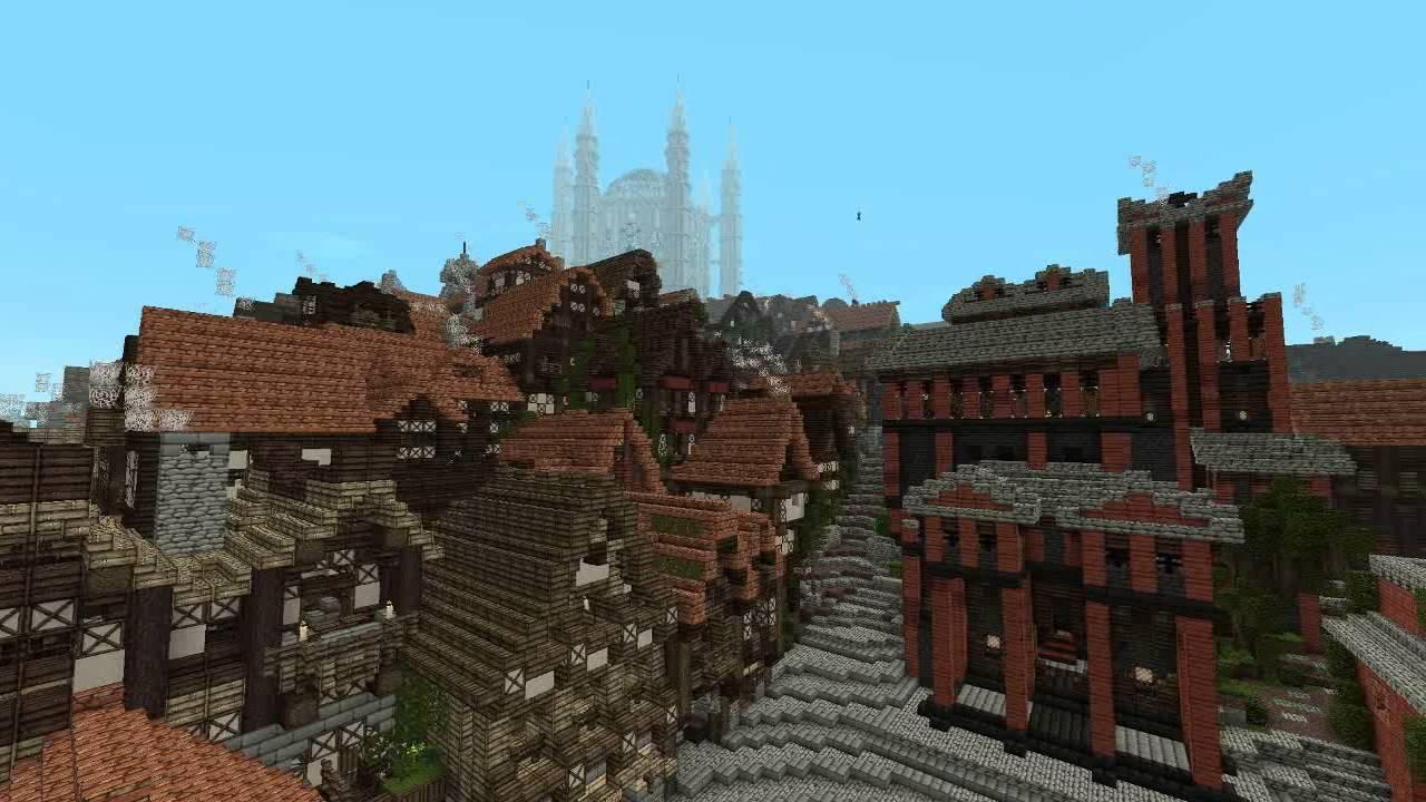 Kings Landing In Minecraft Redux Game Of Thrones YouTube