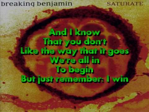 Breaking Benjamin - No Games (Lyrics on screen)