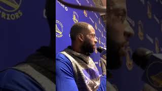 live[9:16] Draymond on Paschall and the Timberwolves loss affecting OKC start