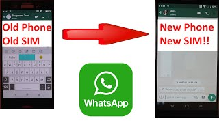 How to transfer your WhatsApp account to a new phone