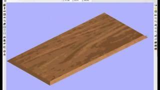 Базис-Мебельщик 8.0 Работа с пазами