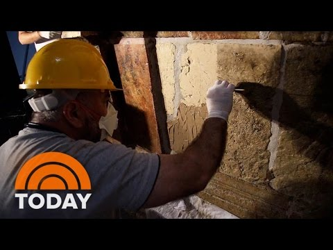 Scientists Examine 'Holy Bed' Believed To Be Tomb Of Jesus Christ | TODAY