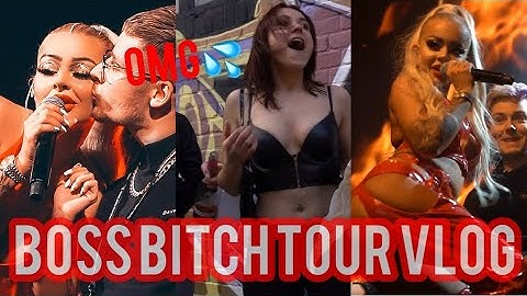 BOSS BITCH TOUR VLOG (Backstage, Tourbus. usw) 😛