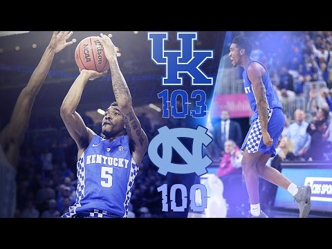 MBB: Kentucky 103,  North Carolina 100