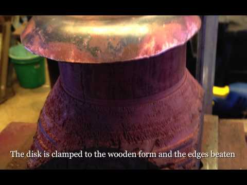Making Model Steam Copper Boiler