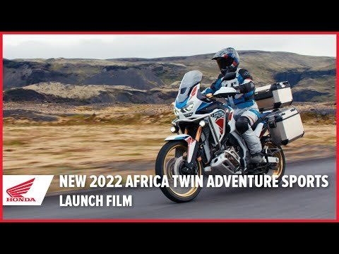 New 2022 Africa Twin Adventure Sports