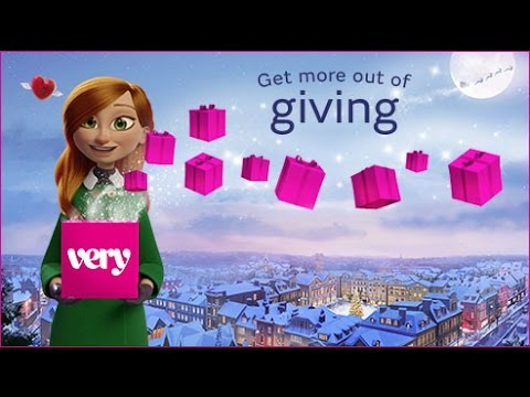 """Very.co.uk Christmas Advert 2016 - Get More Out of Giving """"30"""