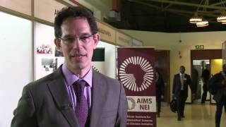 EN-Neil Turok speaking about Science in Africa and the role and vision of AIMS
