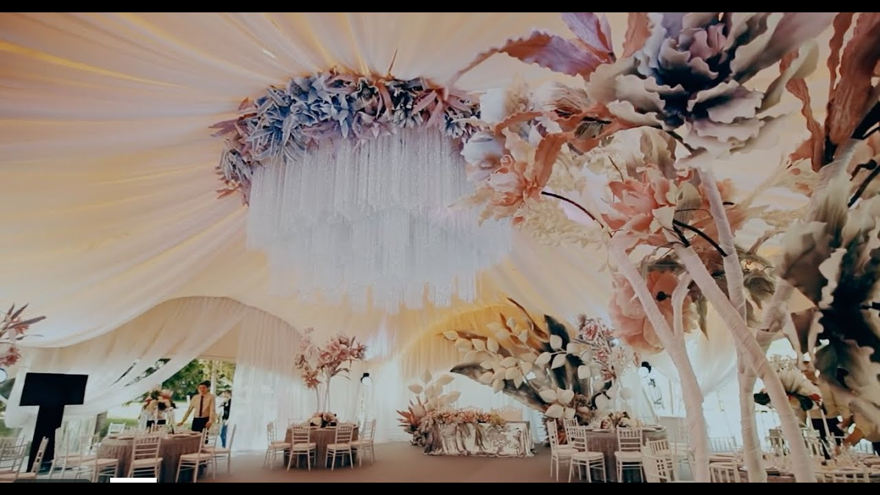 Необычное оформление на свадьбу фото