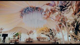 свадьба в  Berta Spa Village самое необычное оформление от  Юлии Шакировой - Экзотические цветы!!!
