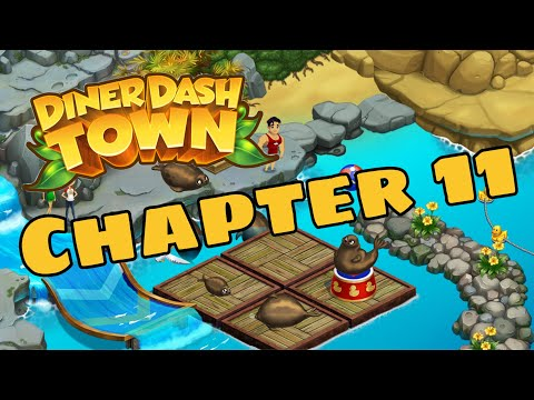 DINER DASH ADVENTURES - Story Walkthrough Part 13 IOS / Android - Chapter 11