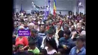 Dan Diaconescu, omul care a îmbrățișat peste un milion de români! Brusturi, Bihor, Romania