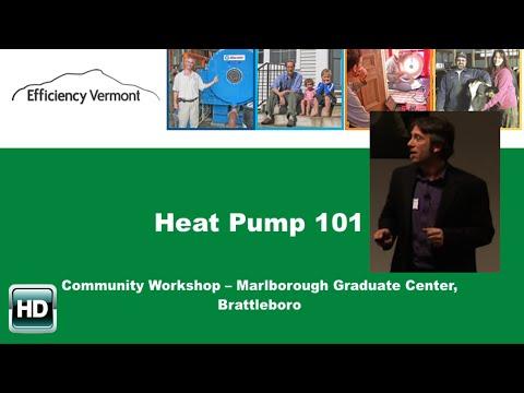 SEON Heat Pump Workshop in Brattleboro 1/12/15