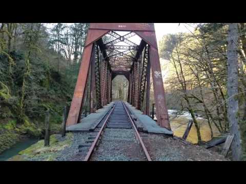 Port of Tillamook Bay Railroad - Salmonberry River Canyon