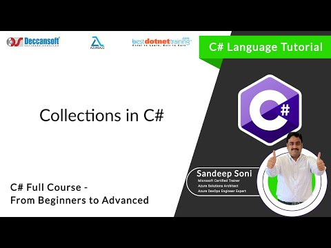 C# Tutorial using visual studio - Collections in C# .Net