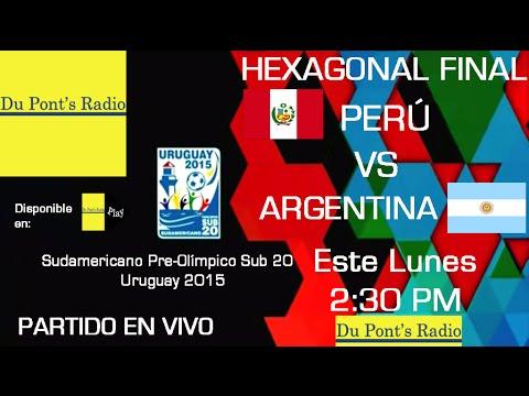 Perú VS Argentina Sudamericano Sub 20 2015 Partido Completo 26/01/2015