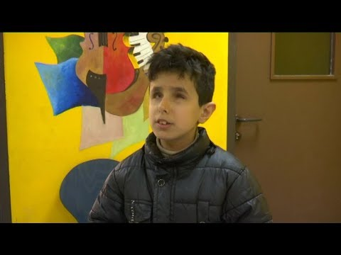 أطفال مكفوفون في الأردن يحققون طفرات من خلال الموسيقى