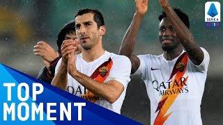 Mkhitaryan seals Roma victory at Verona | Hellas Verona 1-3 Roma | Top Moment | Serie A