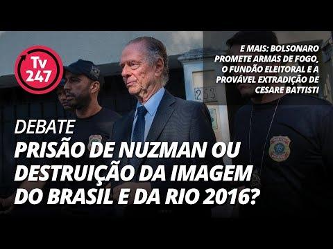 TV 247 debate: prisão de Nuzman ou destruição da imagem do Brasil?