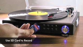 mbeat Turntable to Digital Recorder with USB.SD Recording