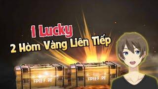 [Free Fire] Vỡ Òa Với 2 Hòm Vàng Liên Tiếp Cùng 1 Lúc Dù Chỉ 1 Lucky   GilGaming TV