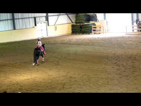 Jacky-Lee Parent riding Moonlight