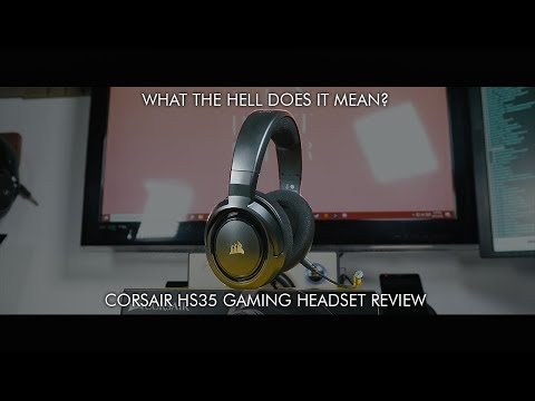 The best headset under $100! - Corsair HS35 Gaming Headset Review