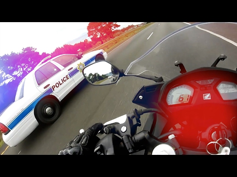 Thumbnail: Cops VS Bikers 2017 - Police Chase Getaways - Bikers ESCAPING Police! [Ep.#34]