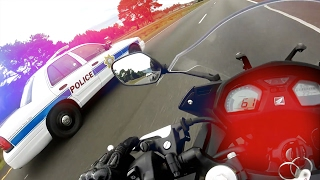 Cops VS Bikers 2017 - Police Chase Getaways - Bikers ESCAPING Police! [Ep.#34]
