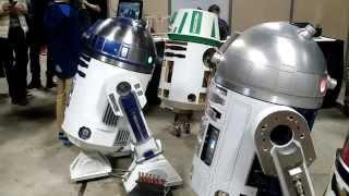 Robot R2-D2 - Paris manga & SciFi Show (04/10/2015)