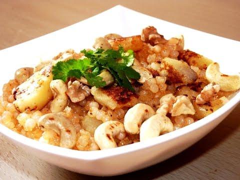 how to make navratri special sabudana chaat recipe in hindi subtitle