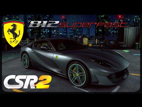 CSR Racing 2 - Ferrari 812 Superfast delivery and live races - Milestone prize