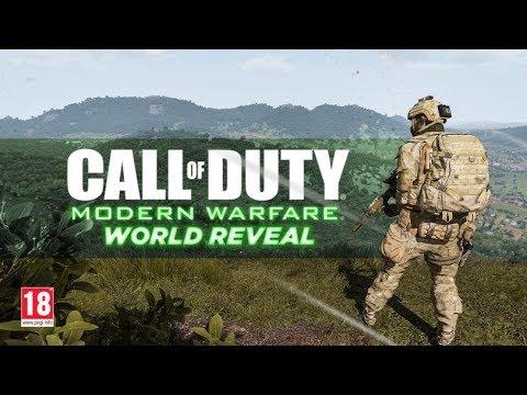 Call of Duty: Modern Warfare reveal is in 6 days...