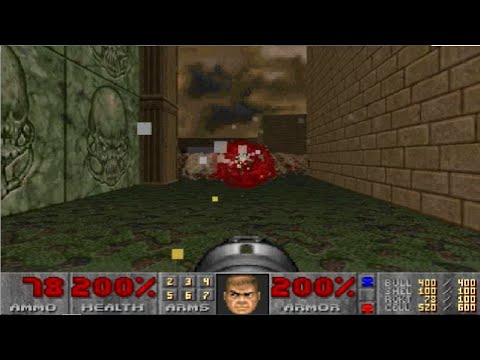 Doom 2 Holy Hell Level 5 UV with 99.999% in 4:50:49 (A cumulatively designed level)