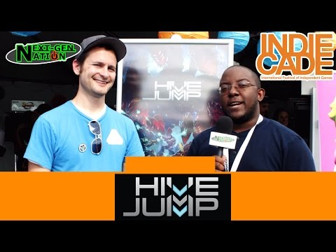 IndieCade 2015 Interview: Hive Jump by Graphite Lab