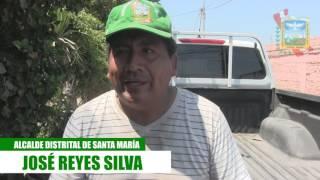CON ESCOBA EN MANO ALCALDE JOSE REYES LIDERA LIMPIEZA DE CALLES PRINCIPALES EN LA CAMPIÑA