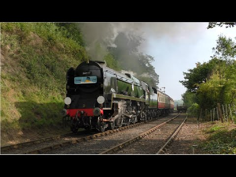 Severn Valley Railway - Autumn Steam Gala - 2015