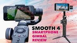 SMOOTH 4 - 3-Achsen Smartphone Gimbal für fantastische Aufnahmen -  TEST REVIEW - ZHIYUN