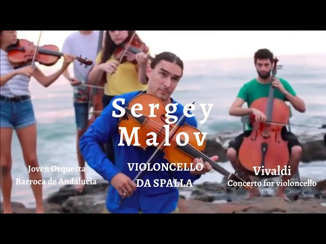 Sergey Malov plays Vivaldi, Concerto for Violincello and strings