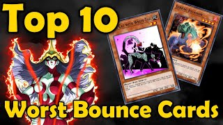 Top 10 Worst caŗds that Bounce Your Opponents Monsters in YuGiOh