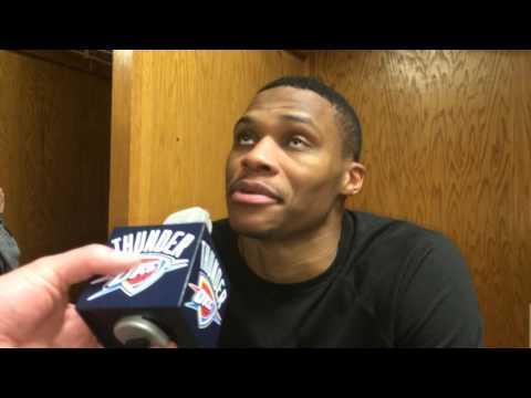 Westbrook: Postgame at Utah