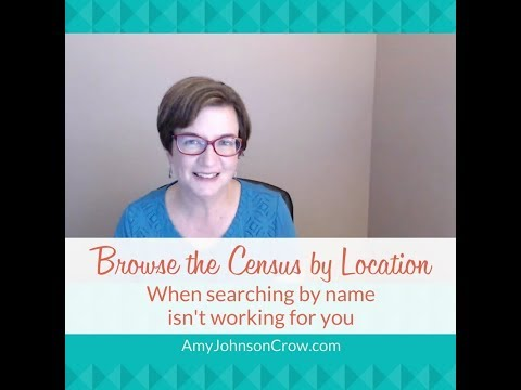 How to Browse the Census by Location on Ancestry and FamilySearch