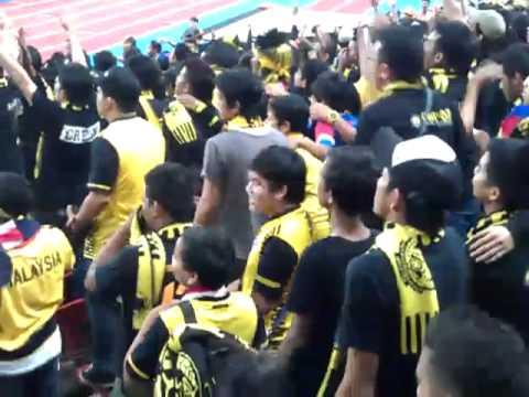 Ultras Malaya   Sehati Sejiwa - MALAYSIA vs JAPAN 2012