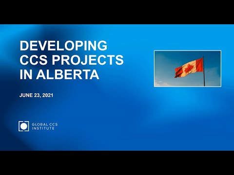 Developing CCS Projects in Alberta 2021