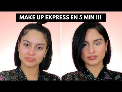 MAKE UP EXPRESS EN 5 MIN!!