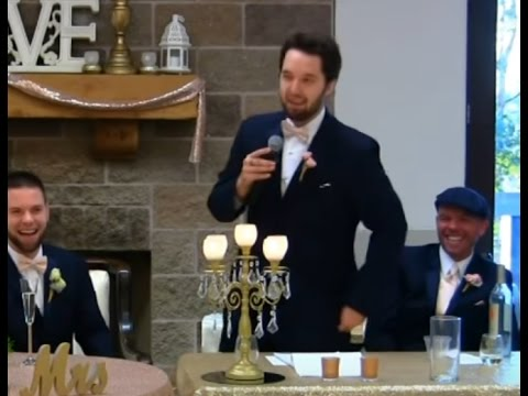 Best Man Speech FUNNY