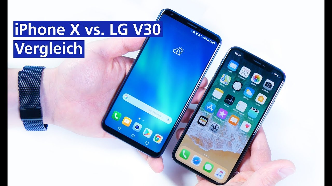 lg v30 vs iphone