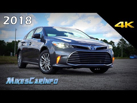 2018 Toyota Avalon Hybrid Limited - Ultimate In-Depth Look in 4K